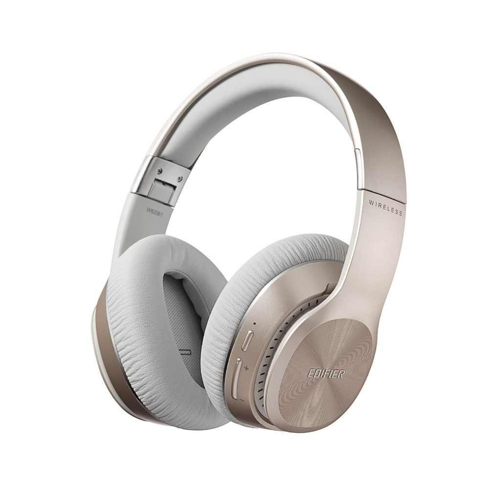 Edifier W820BT słuchawki Bluetooth-składany bezprzewodowe słuchawki z 80 godzin długi czas pracy na baterii