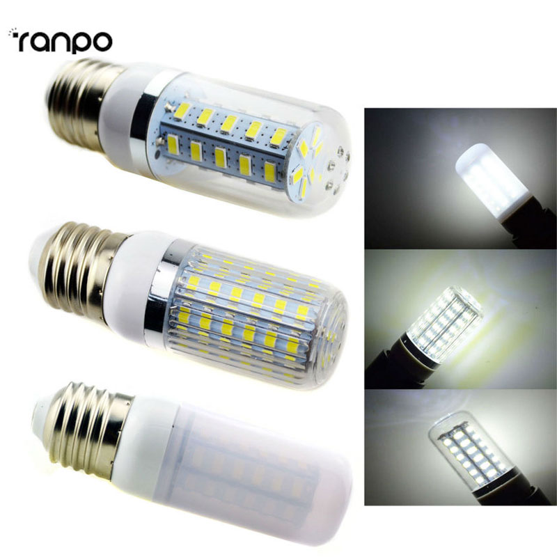 3 Types E26 110v 5w 7w 9w 12w Led Corn Lamp Bulb Light Warm Cold White Lighting Chandelier