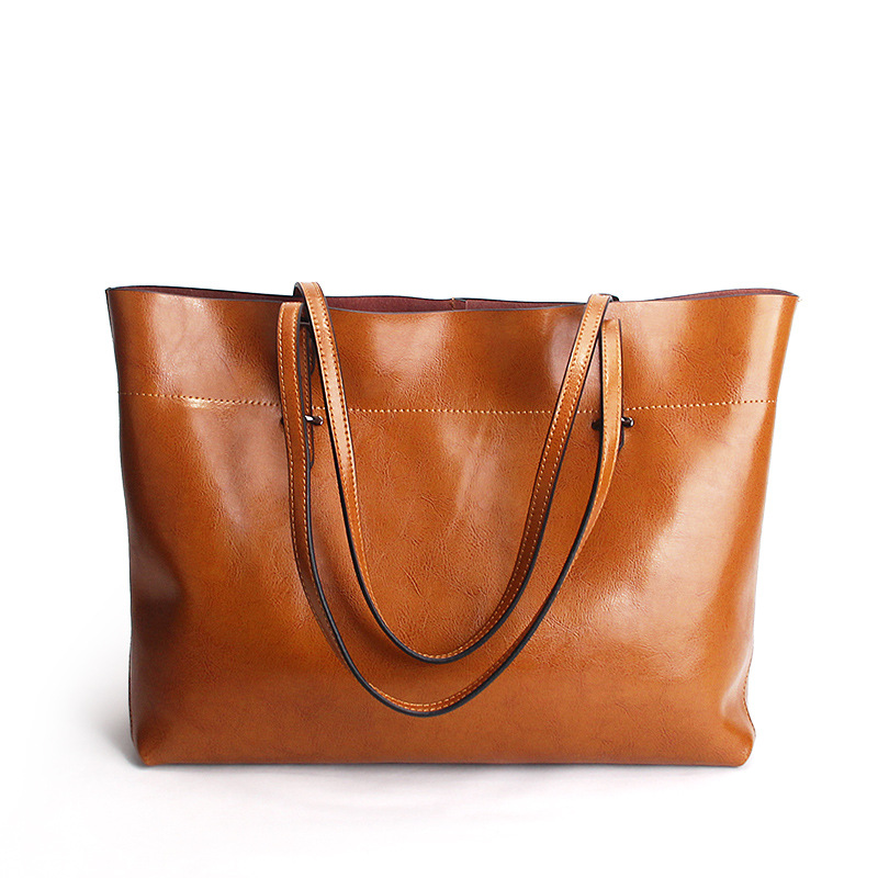 High Quality Women Genuine Leather Luxury Handbags designer Women BagCowhide leather Handbag Large Capacity Handle Bucket BagsHigh Quality Women Genuine Leather Luxury Handbags designer Women BagCowhide leather Handbag Large Capacity Handle Bucket Bags