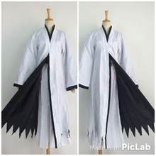 Hot Anime Cosplay Kostuum Bleach Kurosaki Ichigo Robe Mantel Jas Gratis Verzending Japanse Anime Cosplay Halloween Kostuum(China)