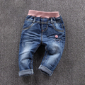 spring girls pants denim jeans baby clothes wholesale