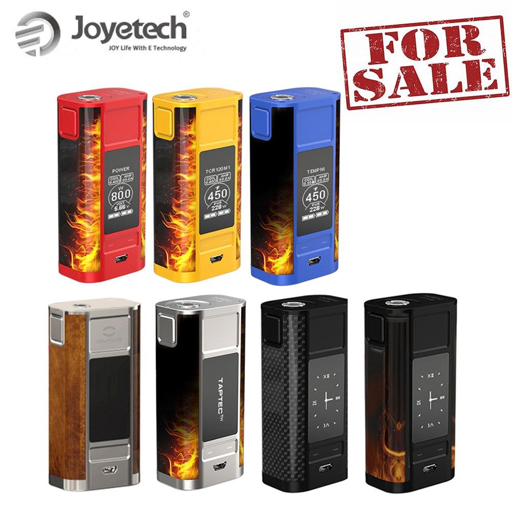 Original Joyetech Quader Tap Box Mod mit oled-display 228W Batterie Kit angetrieben durch 18650 Elektronische Zigarette Großen Verkauf!