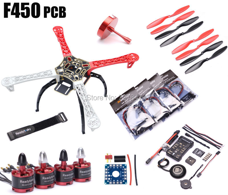 F450 Multi-Copter Quadcopter Rack Kit Pixhawk PX4 PIX 2.4.8 32 Bit Flight Controller M8N GPS 2212 920kv Motor Super combo pixhawk flight control px4 2 4 8 new 32 bit m8n gps kit for uav multi axis fixed wing drone f22159