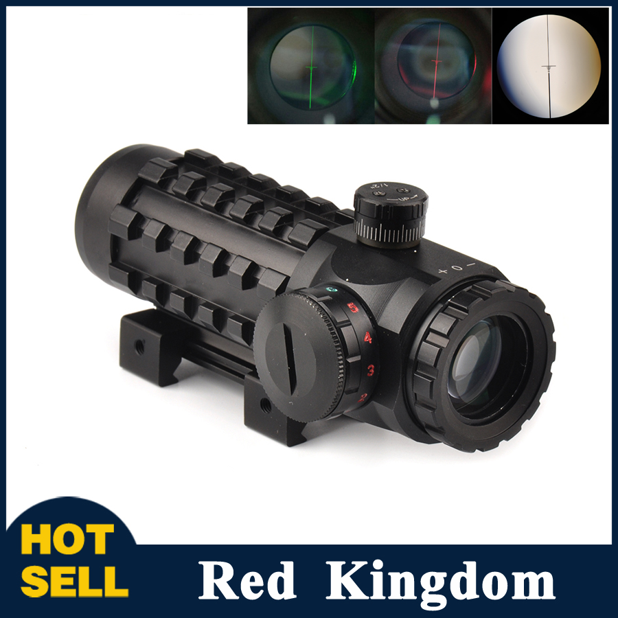 4x28 Optical Sight Scope Red/Green Reticle Riflescope Sight Multi-coated Fit 20 mm/11mm Rail Base for Hunting Riflescopes hot aest bike mtb bmx dh platform pedals cnc titanium spindle ti axle pedal aluminum cycle pedal road bike parts pedals bmx