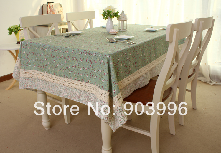 Free Shipping  Tendrils HuaYing Korean Tea Table Cloth Only 1pcs(140*200cm)