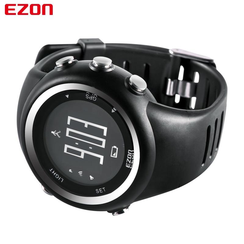 2017 Men Watches Luxury Brand GPS Timing Running Sports ...