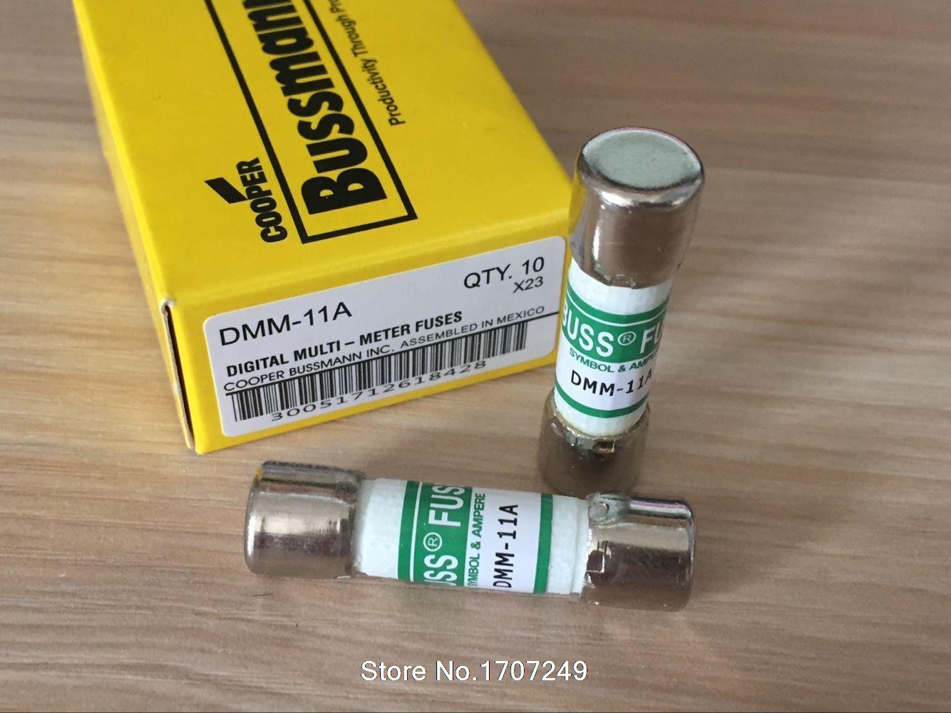 2Pcs BUSS fuses DMM-B-11A DMM-11A 10x38mm 1000V 11A DMM with fuse for fluke multimeter F87V/F175/F177/F179/F287/F289 image
