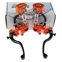 Universal 19*18RCS Motorcycle brake master cylinder Adelin Hydraulic brake Handle For Honda R6 FZ6 GSXR600 ZX 6R Z800 Yamaha