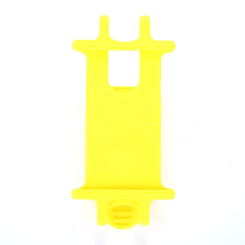4 цвета велосипедного держателя телефона велосипед части для электрических мотоциклов горного велосипеда велосипедные инструменты велосипедная ручка клип для движения - Цвет: yellow
