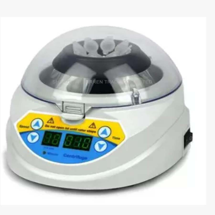 Mini-10K+ mini Laboratory Centrifuge 3000-10000 rpm small centrifuge/Machine Manual Centrifuge 80 1 electric experimental centrifuge medical lab centrifuge laboratory lab supplies medical practice 4000 rpm 20 ml x 6