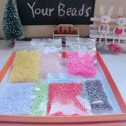 500 piezas 2,6mm Mini Hama cuentas disponibles perler 100% garantía de calidad PUPUKOU cuentas niños juguetes actividad fusible cuentas PUPUKOU