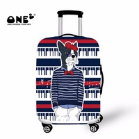 ONE2 2017 New Design Suitcase Cover For Young People Apply To 18 20 22 24 26