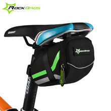 ROCKBROS Bicycle Rear Bag Saddle Bag Bike Accessories Outdoor Sport Cycling Mountain Bike Back Seat Tail