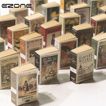 Mini Notebook Stationery Vintage-Style EZONE Creative Friends Students Memo-Pad Portable