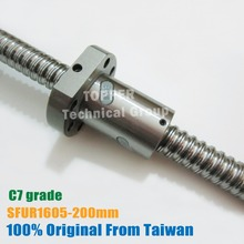 Ball-Screw Ballnut TBI 1605 Lead 200mm 5mm C7 with of for High-Stability CNC Diy-Kit