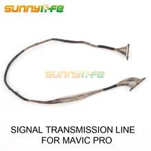 Камера сигнала Трансмиссия Провода ремонт линии плоский кабель видео кабель для dji Мавик Pro