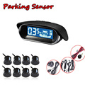 Car Detector Parking System 8Sensors with LCD Display Buzzer Alarm Styling Car Assist Car Parktronic Reverse Radar auto detector