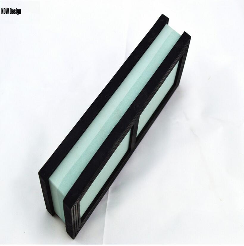 sy tools 400/1000 Grit cuchillo de cocina afilador de cuchillos piedra de afilar 180 * 60 * 28MM Piedra de agua 2 piezas Base antideslizante