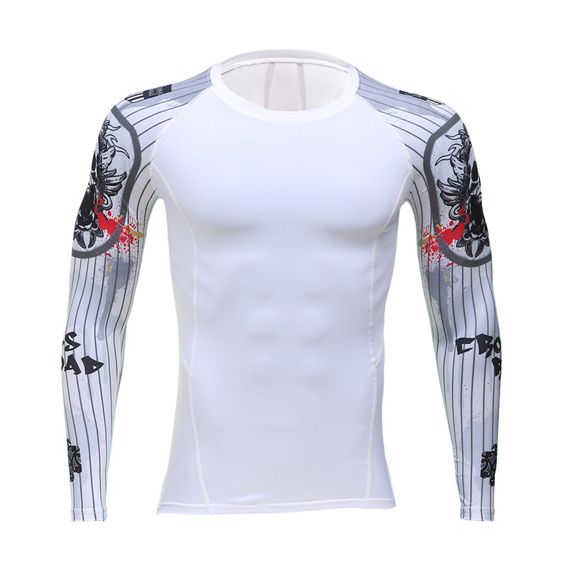 2017 animace kriminality Flash Barry 3 d tiskové tričko komprimované košile Allen se připojí k vašemu muži s dlouhým rukávem T-shirt značky oblečení