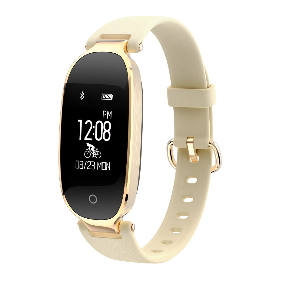 2017 S3 Bluetooth SmartWristband Women Fitness Tracker Heart Rate Sleep Monitor Smart Band Sports Activities Smart