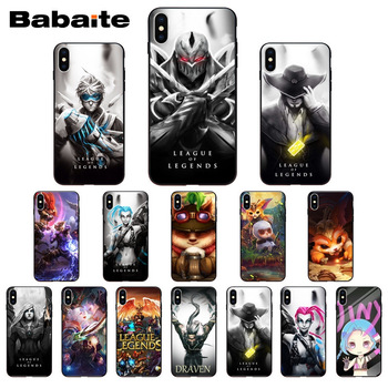for iphone 11pro max League of legends hero lol TPU Soft Silicone Phone Case Cover for iphone X XS MAX 8 7plus 5S SE 6s XR Cover image