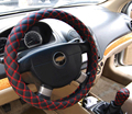 New Sport Leather Steering Wheel Cover,diameter 31.5-38cm,Fit Most Car Styling Factory Wholesale Free Shipping