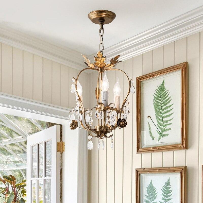 Retro Art Tree Branch Crystal Chandelier Vintage Art Designer Parlor Study Coffee Shop Hanging Light Free Shipping