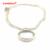Compatible Con Europeo Joyería Medium Flotante Locket Collar de Plata Original 100% 925 Joyería de Plata Esterlina DIY FLN027