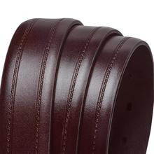 Luxury Brown Leather Belt for Men