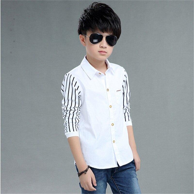 Children Boys Striped Shirts