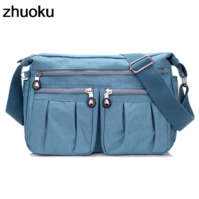 Summer Style Women Messenger Bags Female Waterproof Nylon For Women Crossbody Bag Ladies Small Shoulder Bags Bolsas Feminina
