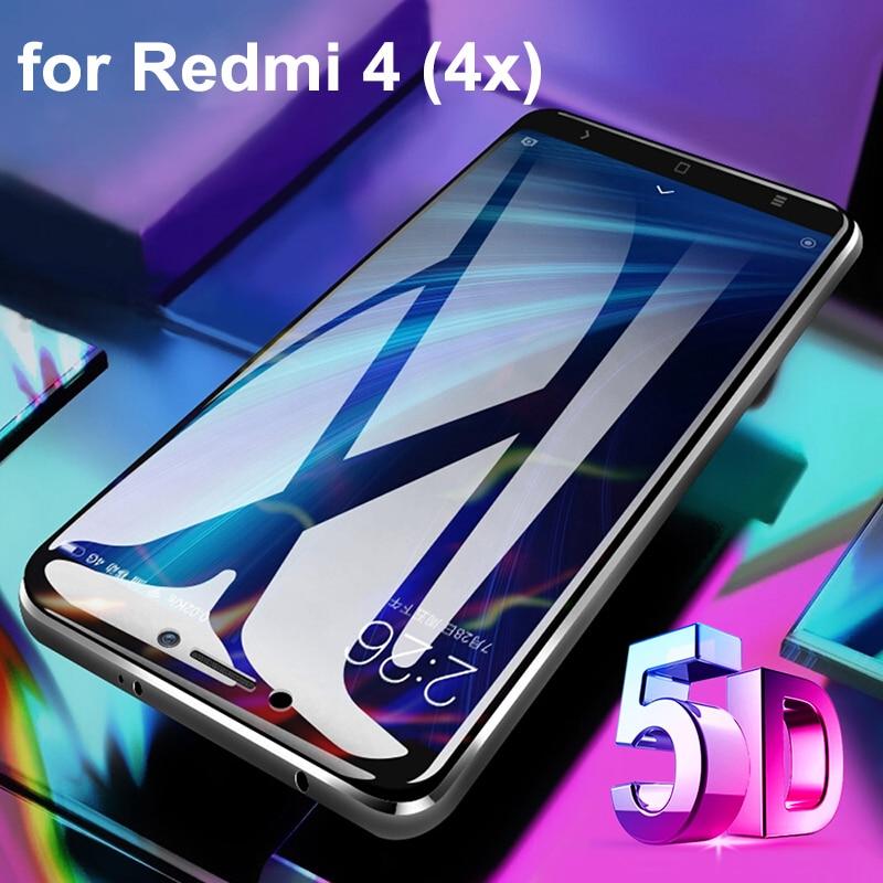 5D Защитная пленка для xiomi redmi 4 (4x) Защита экрана для сяо redmi 4 X (CN MAS PAK ID) redmi 4 (в) 5,0 дюймов закаленное стекло