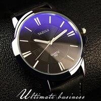 Relogio Masculino 2016 YAZOLE Top Brand Luxury Famous Quartz Watches Men Wristwatch Male Clock Wrist Watch