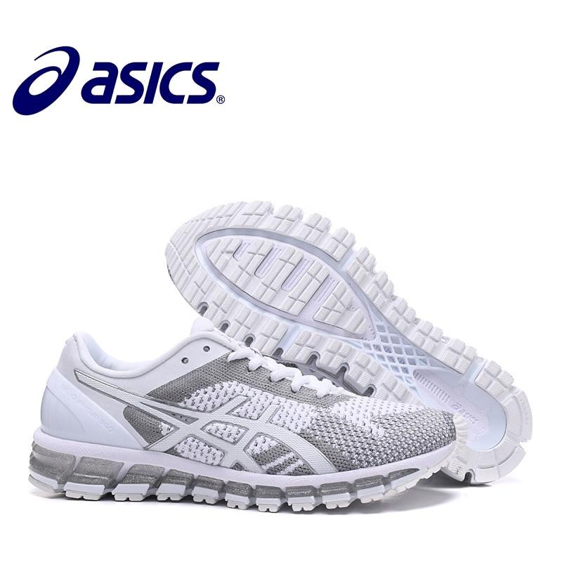 Man GEL GEL-QUANTUM 360 Original Man Sneakers Man's Stability Running Non-slip Shoes ASICS Sports Shoes White Sneakers Men