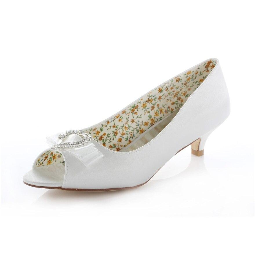 Online Get Cheap Peep Toe Kitten Heel Wedding Shoes -Aliexpress ...