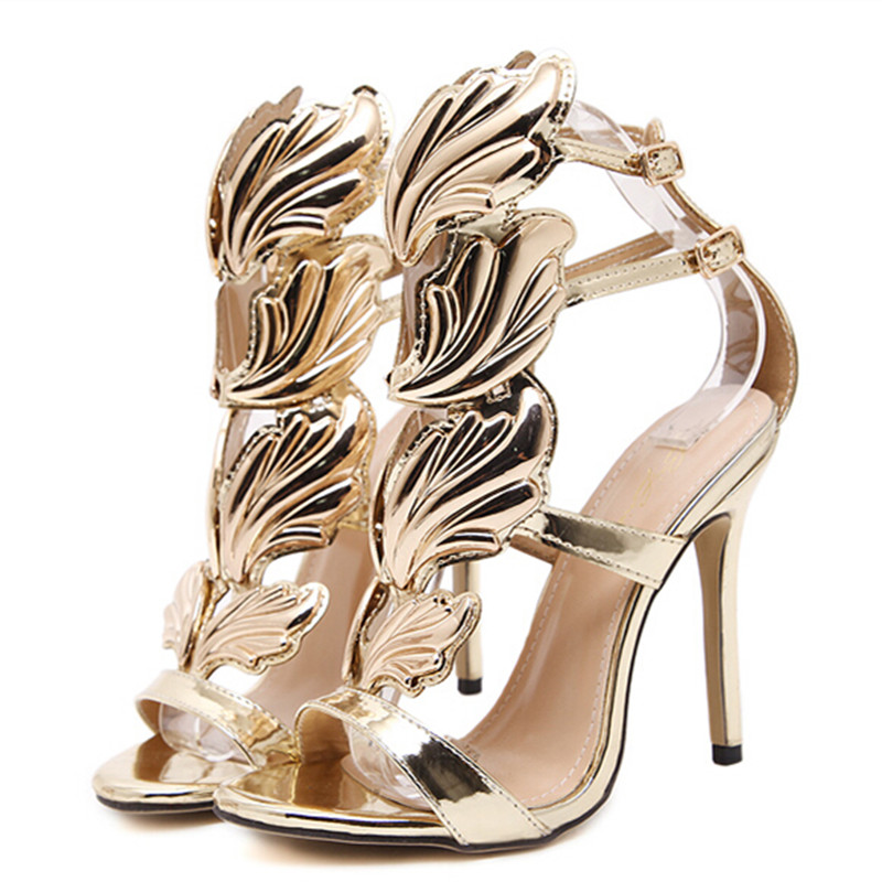 2017 women shoes high heels sandal patent leather gladiator women pumps sexy ladies stiletto party wedding shoes woman sexy shoes woman rivet high heels sandal stiletto heels women pumps party nightclub shoes patent leather womens shoes