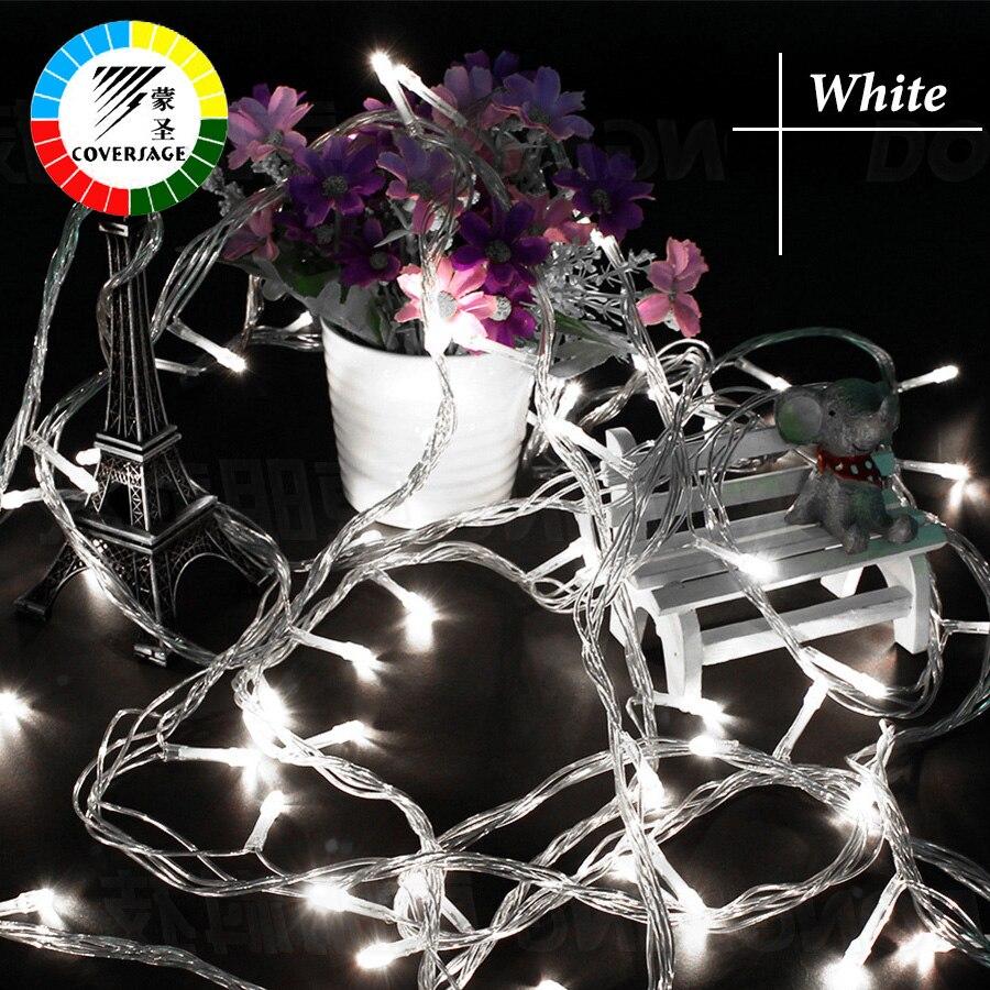 10M 100 Led լարային լույսեր Սուրբ Ծննդյան - Տոնական լուսավորություն - Լուսանկար 3