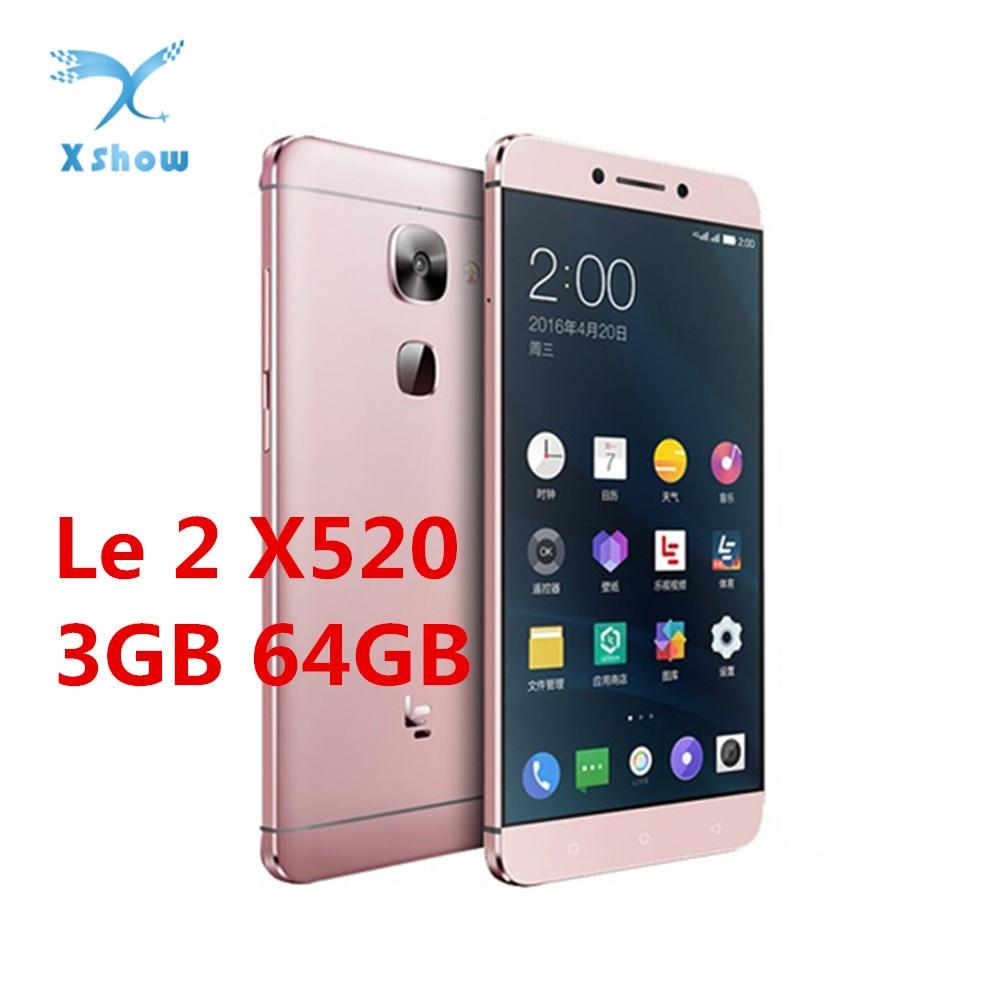 Original Letv LeEco Le 2 X520 5 5inch Snapdragon 652 Octa Core Mobile Phone 3GB RAM