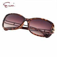 ERRAI 2017 Popular Mulheres Óculos de Sol New Designer Sexy Leopard Brown Retângulo Quadro Completo Óculos De Gafas De sol Óculos De Sol das mulheres