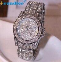 Splendid 2016 Hot 1PC New Luxury Women Watches Reloje Rhinestone Ceramic Crystal Quartz Watches Lady Dress