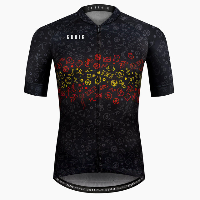 Men's high quality Pro team Summer Cycling Jersey Short Sleeve Bicycle Jerseys Road Bike Cycling Clothing Tops