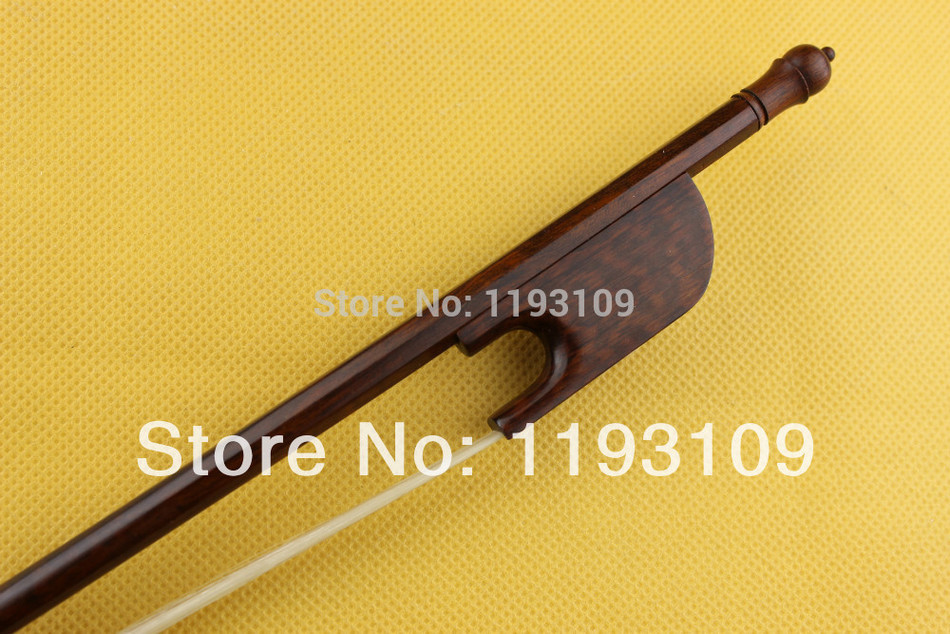 1pc top SNAKEWOOD BAROQUE Violin bow 4 4 size strong baroque snakewood Violin Parts Accessories