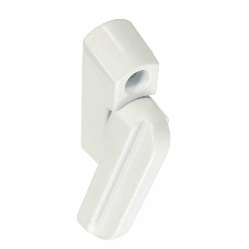 Горячая продажа Универсальный НПВХ алюминиевые окна дверь блокиратор для рам дополнительная безопасность фиксатор поворота защелка домашний корпус безопасно