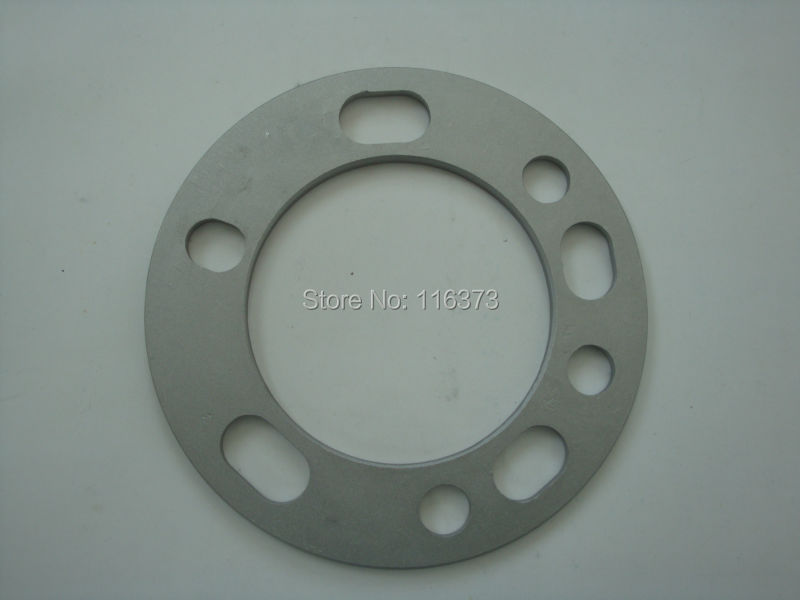 1pcs 6mm Universal Wheel Spacer Adapter 5x135 <font><b>5x139.7</b></font> 6x135 6x139.7 Car Styling Accessories image
