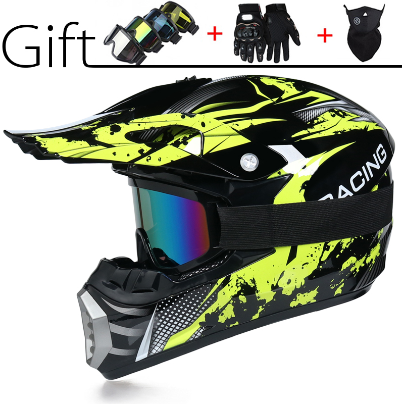 Motocross Off Road Helmet Motorbike Ridng Protection Helmet Motocross Racing Dirt Bike Downhill Cascos De Motorcycle