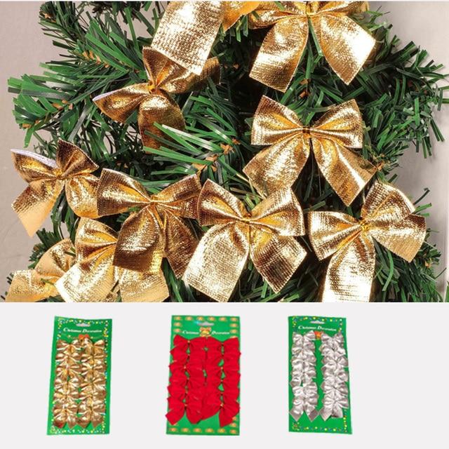 Weihnachtsbaum silber und gold