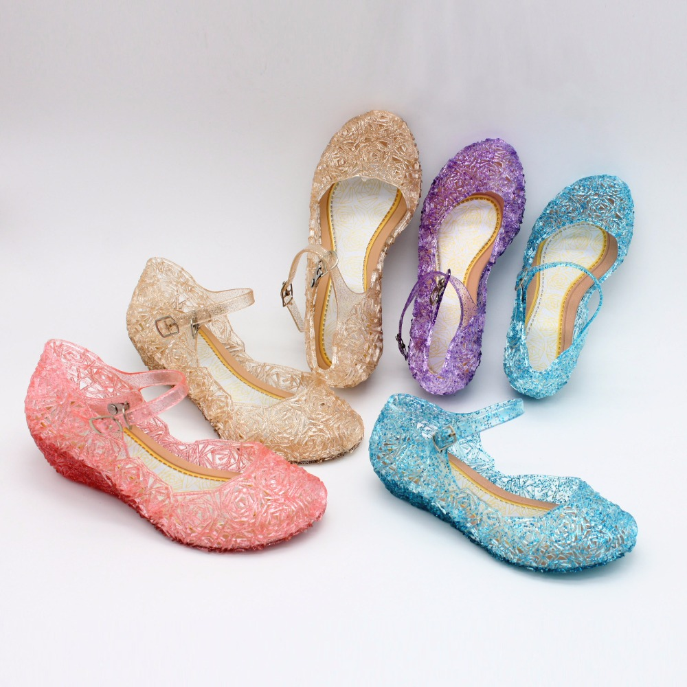 baby schoenen meisjes sandalen anna & elsa 2018 Nieuwe kinderen baby - Kinderschoenen - Foto 4