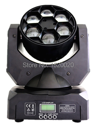 6*15W  led beam moving head light mini bee eyes wash beam RGBW colour dj lights for event party lighting 10w rgbw mini led beam moving head light disco dj stage lighting dmx512 mini 10w led linear beam chandelier 10w wash beam lamps
