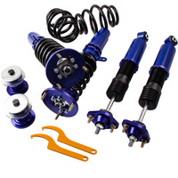 Coilover For BMW 3 Series E46 330i Estate Saloon Suspension Shock Absorber Strut for Base Convertible 2 Door Adj. Height