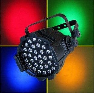 6 pcs/Lot, 36x3 W RGB LED Par lumière en fonte d'aluminium DMX/AUTO/maître/son LED disco par scène LED lumières dj club par64 projecteur